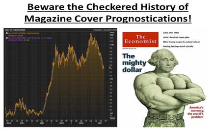 Magazine covers: inverse correlation?